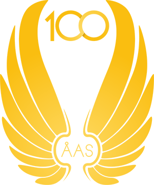 100 år av kårgemenskap Logotyp
